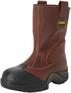 Dr. Martens Men's Outland ST Work Boot,Teak Industrial Trailblazer,6 UK/7 M US