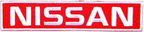 NISSAN Nismo GTR Skyline Logo Sign Car Truck Pickup Sport Racing Patch Iron on Applique Embroidered T shirt Jacket Costume Gift BY SURAPAN