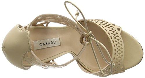 Casadei 1l340d - Sandalias de tacón Mujer Beige