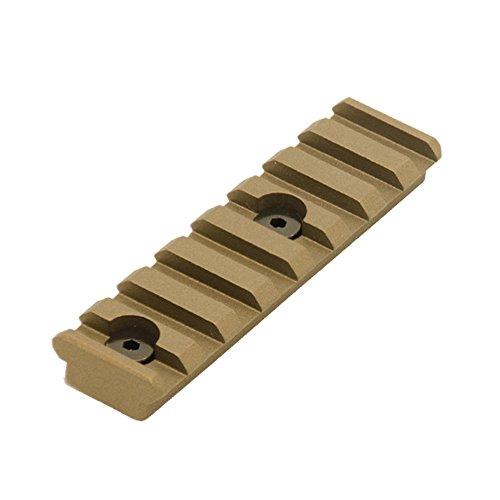 UTG PRO 8-Slot Keymod Picatinny Rail Section-Burnt Bronze by UTG Pro