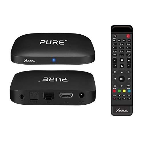 Xsarius / HMP Pure 4K OTT 4K UHD IPTV Android 7.1 Player H.265 HEVC WLAN
