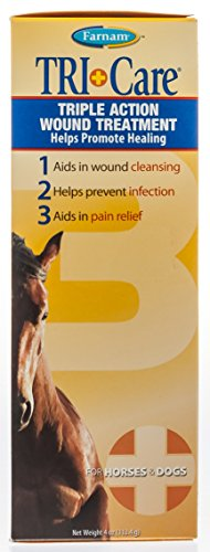 - Farnam Tri-Care Triple Action Wound Treatment, 4 oz.