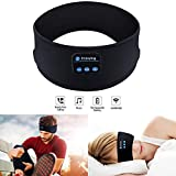 Bluetooth Headband Sleep Headphones,SKYEOL Wireless Bluetooth Sleeping Headband with Mic Built-in Stereo Speakers for Sleeping, Sports, Air Travel, Meditation and Relaxation (Headband)