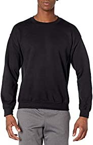 Gildan Mens Fleece Crewneck Sweatshirt, Style G18000