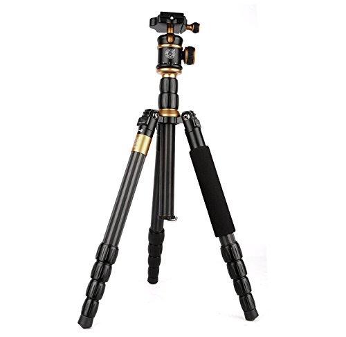 Morjava MJ-999S Aluminium Professional Travel Tripod Monopod with Detachable Ball Head for SLR Camera Canon Nikon Pentax Sony AF006