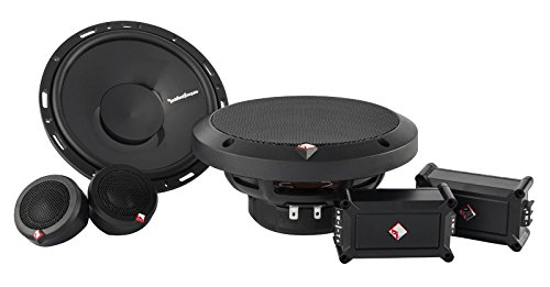 "Rockford Fosgate Punch P165-SE 240W 6.5"" Punch Series Euro Fit Compatible 2-Way Component System w/ External Crossover Network primary"