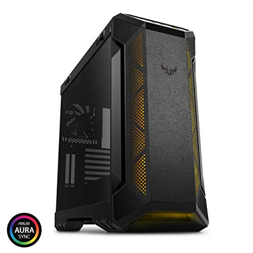 (ASUS TUF Gaming GT501 Mid-Tower Computer Case for up to EATX Motherboards with USB 3.0 Front Panel Cases GT501/GRY/WITH Handle)
