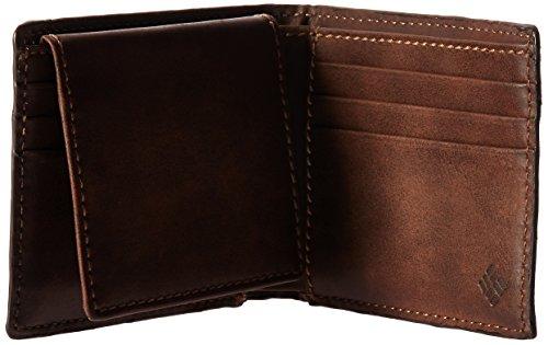 Dark Passcase Rfid Men's Wallet Tan Columbia Columbia Men's Blocking wZ10t