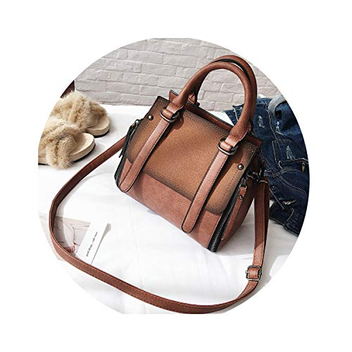 PU leather women handbag vintage tote bag panelled stone shoulder bag messenger bag