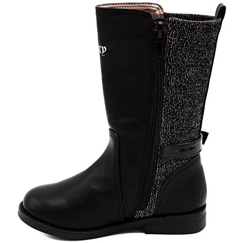 Pictures of Juicy Couture Kids JC Lil Beverly Hills FK5230 Black & Silver 4