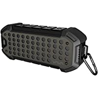 VAVA VA-SK004 24 Hours IPX6 Waterproof Bluetooth Speakers Outdoor Rugged Wireless Portable Speaker Voom 23 (Water Resistant, Loud Volume with Bass for Camping, Beach, Sports, Pool Party, Shower)