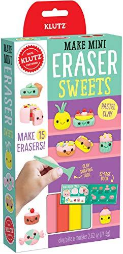 Klutz Make Mini Eraser Sweets Craft Kit (Make Your Own Ice Cream Cake Games)