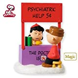 The Doctor Is In Lucy Peanuts Gang 2010 Hallmark Ornament