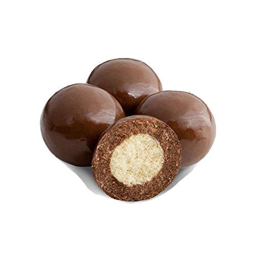 Albanese Triple Dipped Malt Balls - 3 LB Bulk Bag (Milk Chocolate)