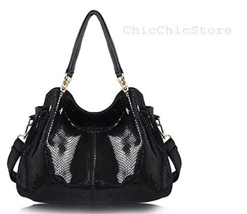 74ed0a353a4ff Chicstore Genuine Leather+pu Handbags Women s Snake Famous Brands ...