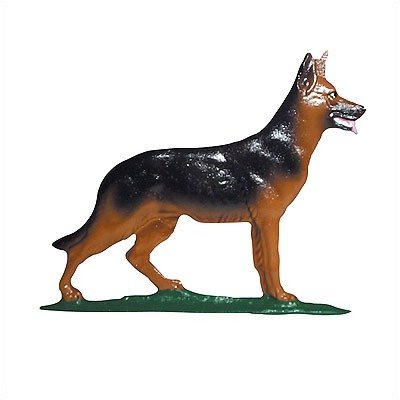 Whitehall Products German Shepherd Weathervane, 30-Inch, Rooftop Color by Whitehall