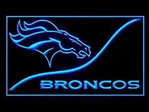 Amazon Com Denver Broncos Cool Led Light Sign Home Amp Kitchen