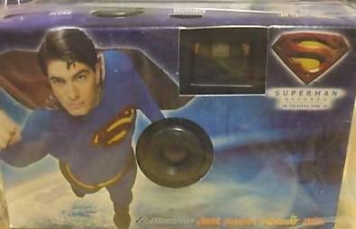 Superman Returns 35mm Disposable Camera