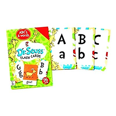 Dr. Seuss Flash Cards - ABC's & Words: Toys & Games