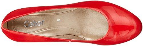 Damen beige Red Gabor Rot Basic Pumps BFqwxw1z