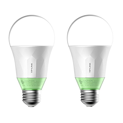 Kasa Smart Wi-Fi LED Light Bulb by TP-Link – Soft White (800lm) – 2 Pack (LB110) Review