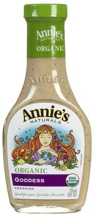 Annie's Naturals Dressing, Organic, Goddess, 8-Ounce (Pack of 6)
