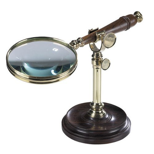 - Magnifying Glass with Stand Decorative Accent by Authentic Models