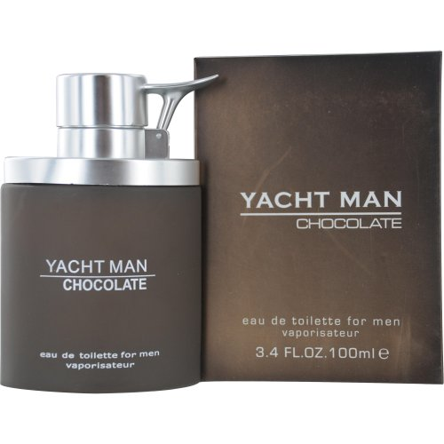 Myrurgia Yacht Man Eau De Toilette Spray for Men, Chocolate, 3.4 Ounce