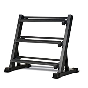 Marcy-3-Tier-Metal-Steel-Home-Workout-Gym-Dumbbell-Weight-Rack-Storage-Stand