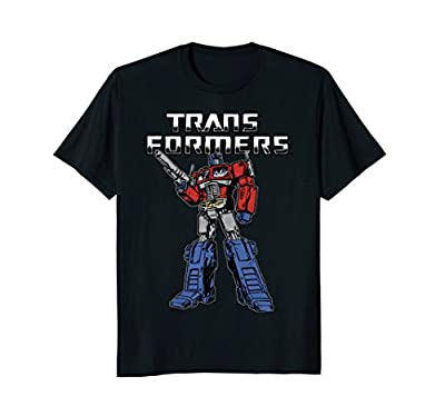 Transformers Optimus Prime Action Stance T-Shirt