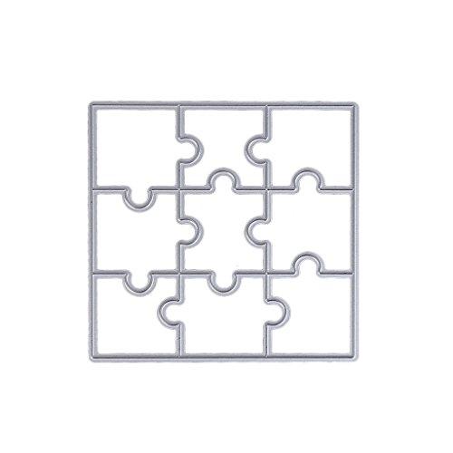 Arich Puzzle Diy Metal Cutting Dies Stencil Template Scrapbook Album Paper Card Craft