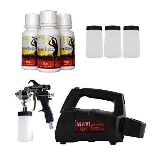 Pro Tanning Systems - Maxi-Mist Lite + Pro HVLP Spray Tanning System