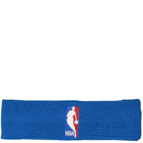 For Bare Feet Cotton Headband - NBA Logoman Headband - Royal Blue - Royal One Size