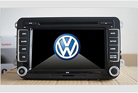 Autoradio per Volkswagen VW Golf 5 con GPS - 7 pollici, GPS, FM/AM