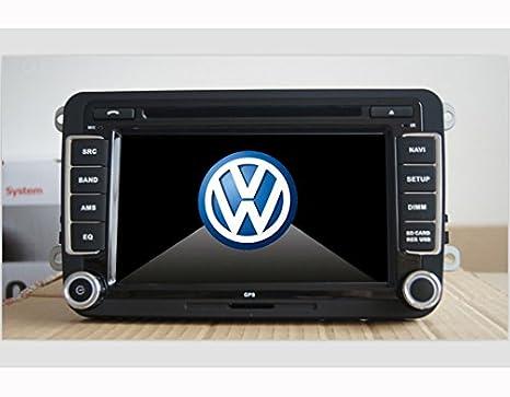 Radio DVD Coche para Volkswagen VW Golf 5 con GPS - 7 pulgada, GPS,