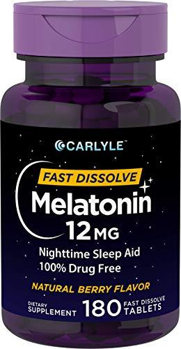 Carlyle Melatonin Dissolve Nighttime Vegetarian product image