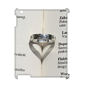 3D IPad 2,3,4 Cases Lovely Ring Cheap for Girls, Ipad Cases Ipad2 Vinceryshop, {White}