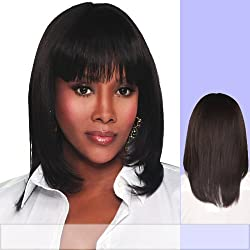 Vivica A. Fox H202-V Premium Human Hair, PS Cap Wig in Color 4