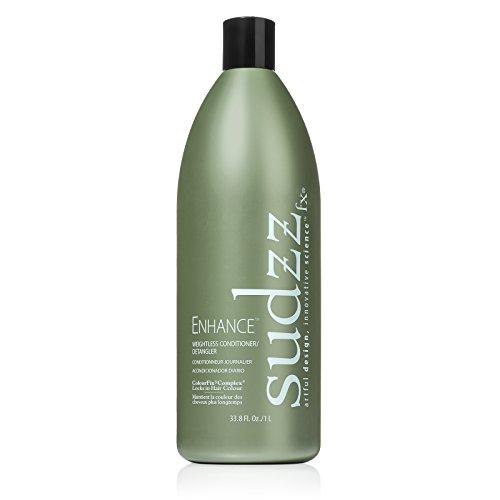 SUDZZFX Enhance Weightless Conditioner and Detangler, 33.8 Fl Oz Daily Detangler