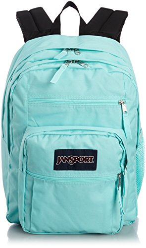 JanSport Big Student Backpack, Aqua Dash, 34L