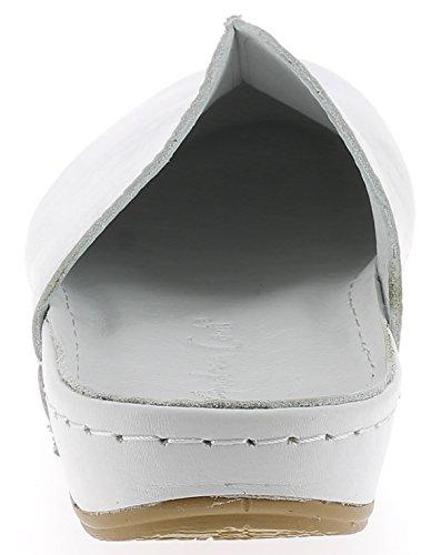 Andrea Conti Damen Pantolette 0021550 Weiß