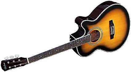 Guitarra acústica para principiantes Akogi de 1 caballo, de ...