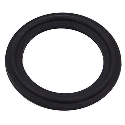 (DERNORD Viton Rubber Gasket Tri-clamp O-Ring Fits Sanitary Tri-Clover Type Ferrule (Tri-Clamp Size: 12 Inch))