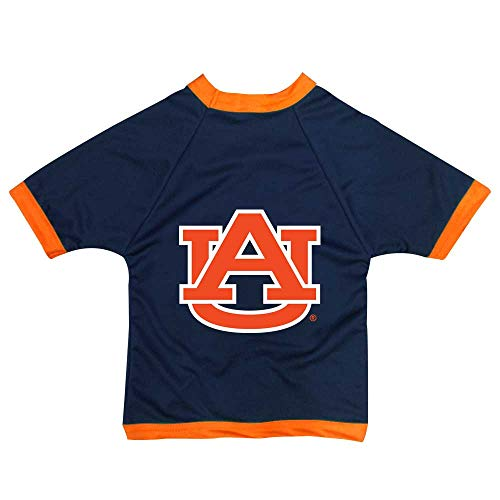 - NCAA Auburn Tigers Athletic Mesh Dog Jersey (Team Color, X-Small)