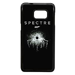 Plastic Case Glyase Samsung Galaxy Note 5 Edge Cell Phone Case Black 007 James Bond Generic Design Back Case Cover