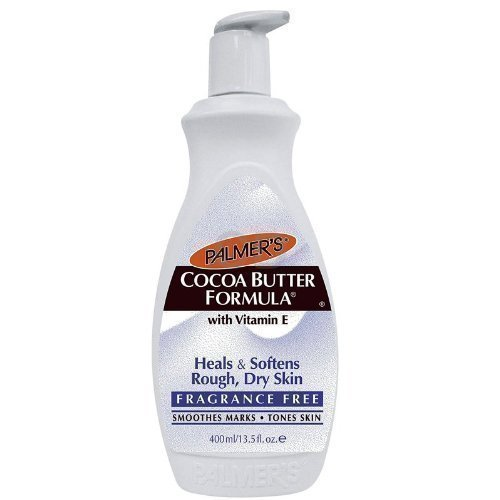 Palmer's Cocoa Butter Fragrance Free Formula Pump Lotion 400ml Palmers