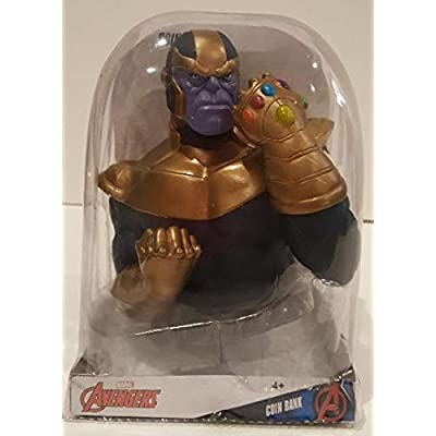 Marvel Avengers Thanos Coin Bank: Toys & Games