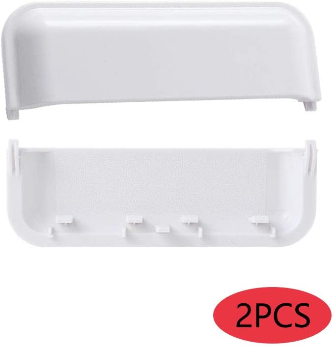 W10861225 W10714516 Dryer Door Handle 2 pk Compatible with Whirlpool Dryer Replacement Parts by AMI - Replaces W10861225VP AP5999398 PS11731583