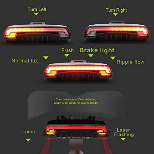 c78fa8649cb MEILAN X5 Wireless Remote Control Smart Bike TailLight Rear Light Automatic  Brake Light with Turn Signal