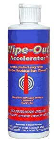 Wipe Out Sharp Shoot Wipeout Accelerator Bore Cleaner 8 Oz Bottle Md: WAC800 WAC800